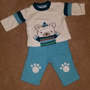 Gymboree boys winter outfit